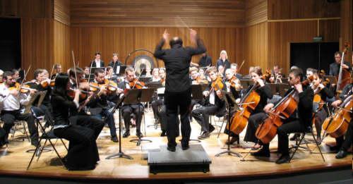 Damski orkester v Mekinjah