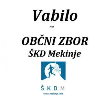 Občni zbor ŠKDM 2020